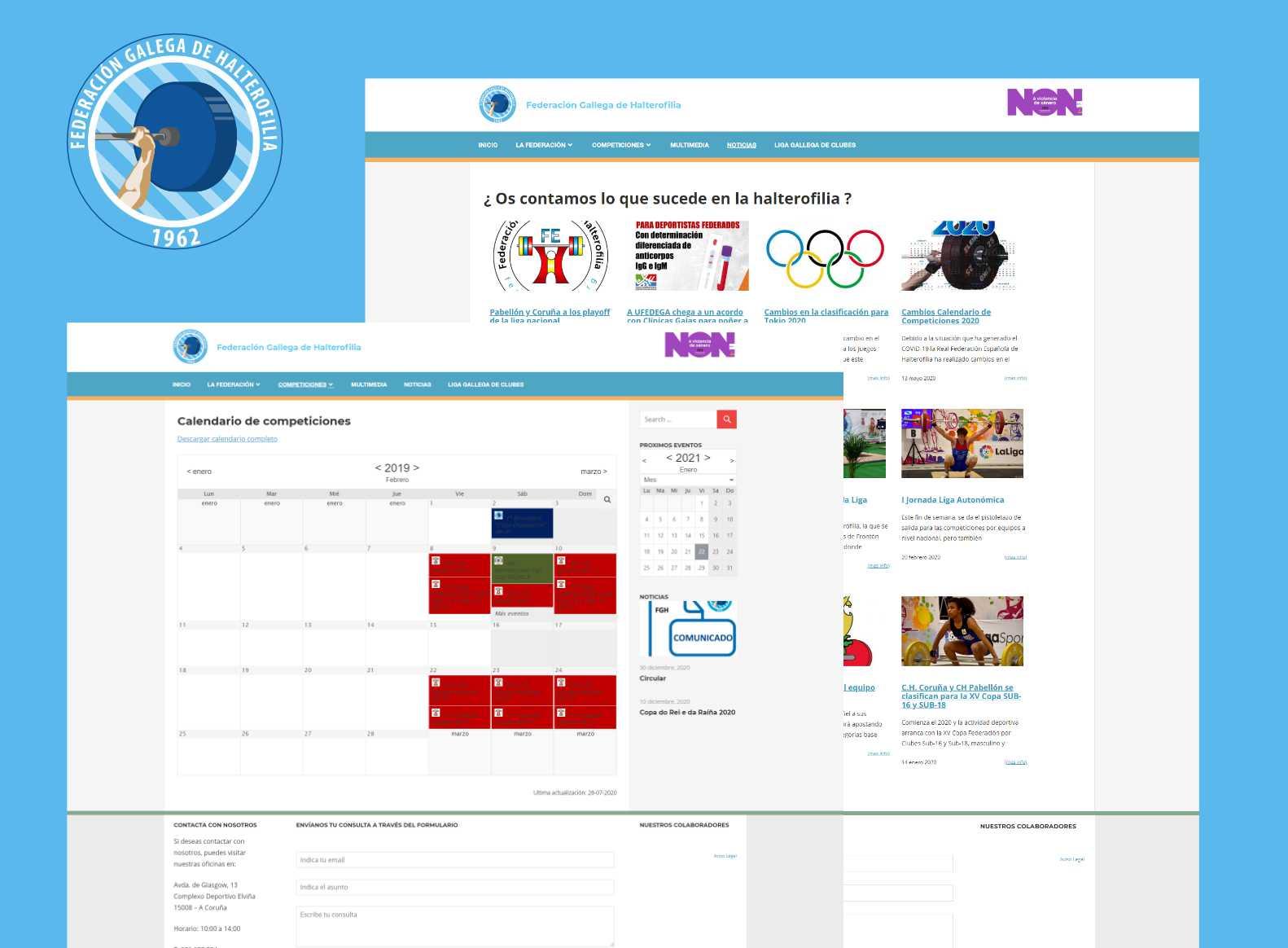 página_web_federacion_gallega_de_halterofilia