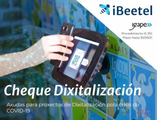 Cheque Digitalización COVID-19: Ayudas a proyectos de Digitalización para hacer frente a la situación provocada por el COVID-19